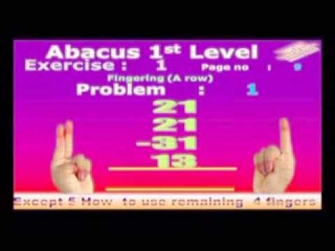 wom abacus 1st level 1st exercise {for remaining exercises with ...