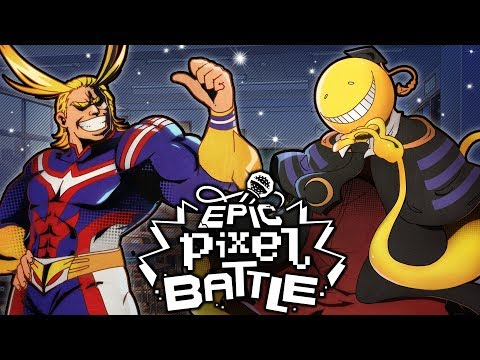 All Might Vs Koro Sensei - EPIC PIXEL BATTLE [EPB SAISON 3]
