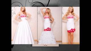 Свадебное платье. Свадебные платья трансформеры(Свадебное платье трансформер создано так, что нижняя часть наряда может легко отстегиваться и длинное..., 2012-06-14T06:12:37.000Z)