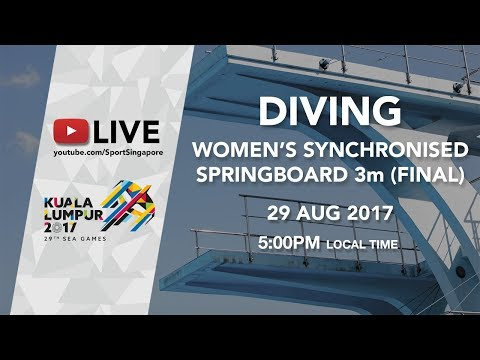 Women's Synchronised Diving 3m springboard final | 29th SEA Games 2017