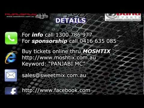 Panjabi MC (PMC) Melbourne 2011 Live - ft Offlicence (UK), The Allganiks, Sweetmix & many more