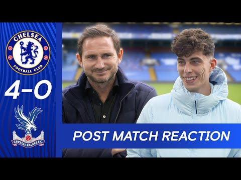 Frank Lampard & Kai Havertz React To Dominant Performance | Chelsea 4-0 Palace | Premier League
