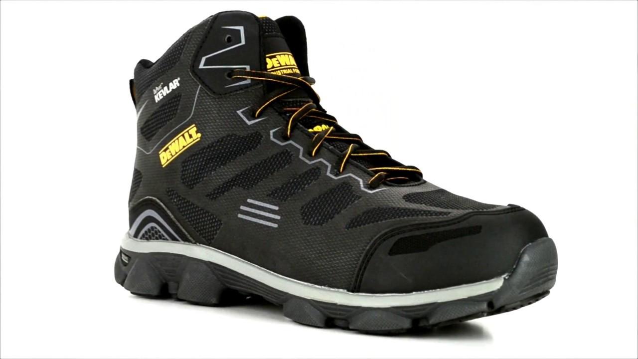 689f213d41e Men's DeWalt Crossfire Mid Aluminum Toe Athletic Boots DXWP10006-KEV @  Steel-Toe-Shoes.com
