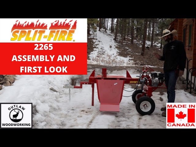 SPLITFIRE 2265 ASSEMBLY AND FIRST LOOK
