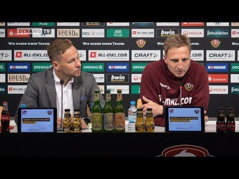 11. Spieltag | SGD - DSC | Pressekonferenz vor dem Spiel