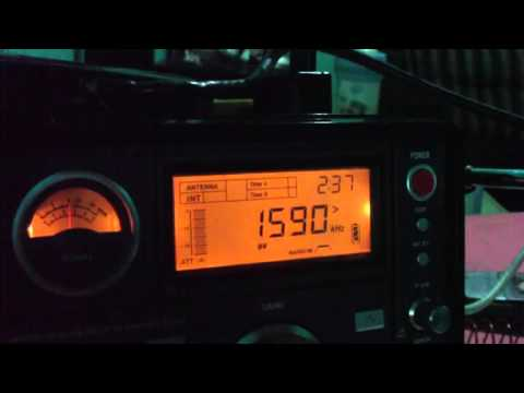 1590 kHz Radio Deporte , Caracas - Venezuela AM Diexismo recebido en Brasil