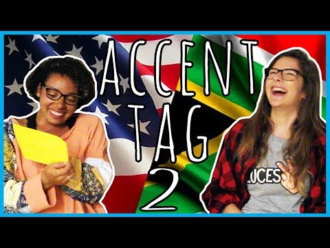 American vs. American-South African Accent Tag | COLLAB
