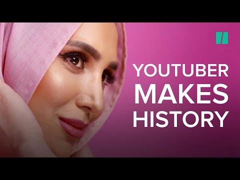 Hijab-Wearing Model Amena Khan Featured In Hair Ad