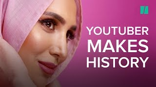 Hijab-Wearing Model Amena Khan Featured In Hair Ad