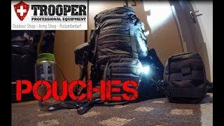 Tasmanian Tiger TT  Tac Pouch 1,4,5,9,10 / Organisation im Rucksack / Trooper.ch