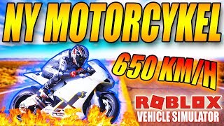NEW MOTORCYCLE-1000 + KM/H-VEHICLE SIMULATOR-ENGLISH ROBLOX-[#36] + MIGHT & MAGIC EG (ADVERTISING)