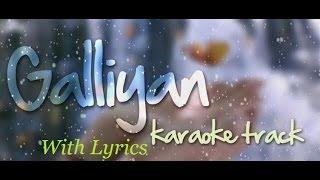 Teri Galliyan Karaoke with lyrics- Ek villian (Ankit Tiwari) by Sanjiv Upadhyay