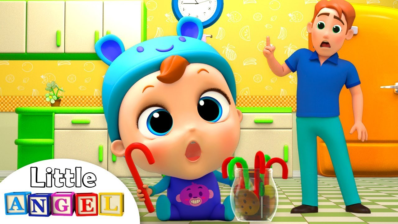 Johny Johny Yes Papa Song (Baby Version) | Little Angel Nursery Rhymes