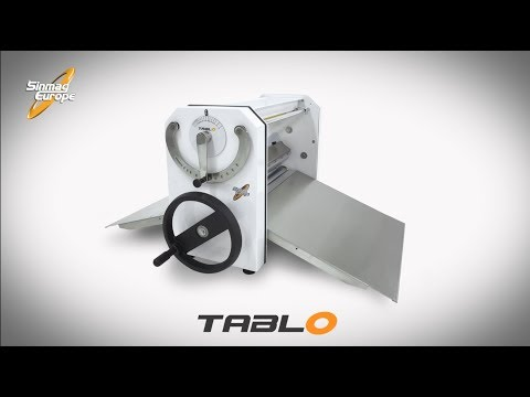Manual Dough Sheeter | Tablo | Bakery Machines And Equipment