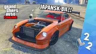 GTA 5 ONLINE - PIMPAR NYA KARIN 190Z! (japansk sportbil)