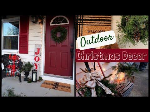 OUTDOOR CHRISTMAS DECOR | Christmas Porch Ideas | Lynette Yoder