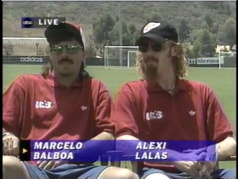 Download 1994 World Cup USA: Marcelo Balboa and Alexi Lalas Interview Prior To USA vs Brazil