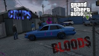 GTA 5 Crips & Bloods Part 11 [HD]