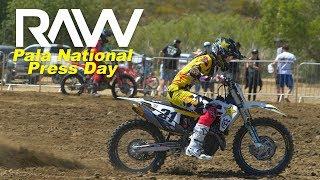 2019 Fox Raceway National Press Day RAW - Motocross Action Magazine