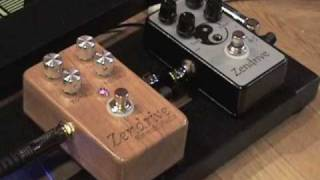 Hermida Audio Zendrive guitar pedal demo standard vs SE Version w Tele @ Jaguar Twin