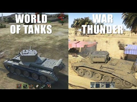 WoT Vs War Thunder - Gameplay Comparison