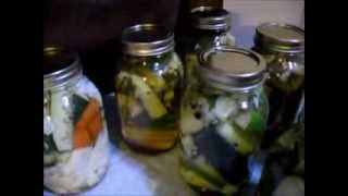 Canning Fresh Garden Vegetables In My Off Grid Rv