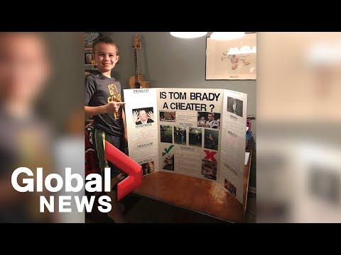 Louie Cruz - VIDEO: 10 Yr Old Boy Wins Science Fair By Proving Tom Brady is a Cheater