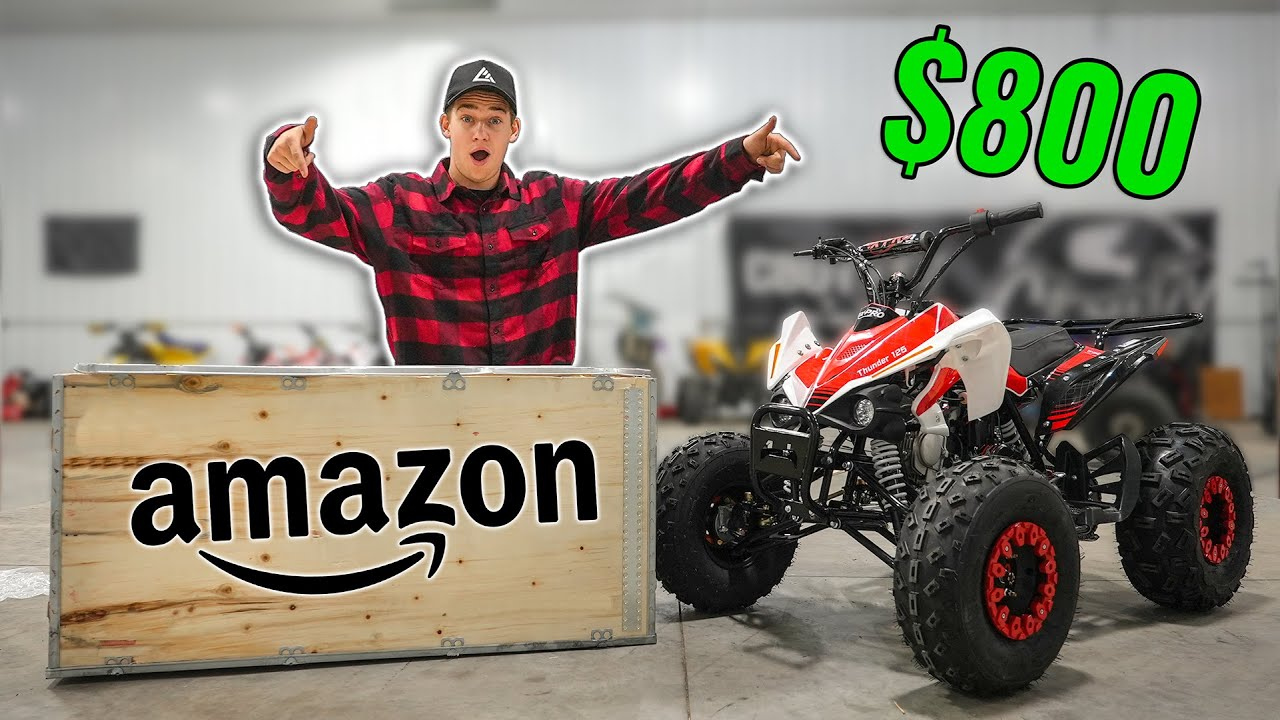 Download Testing $800 Amazon Quad!! (It gets Destroyed)