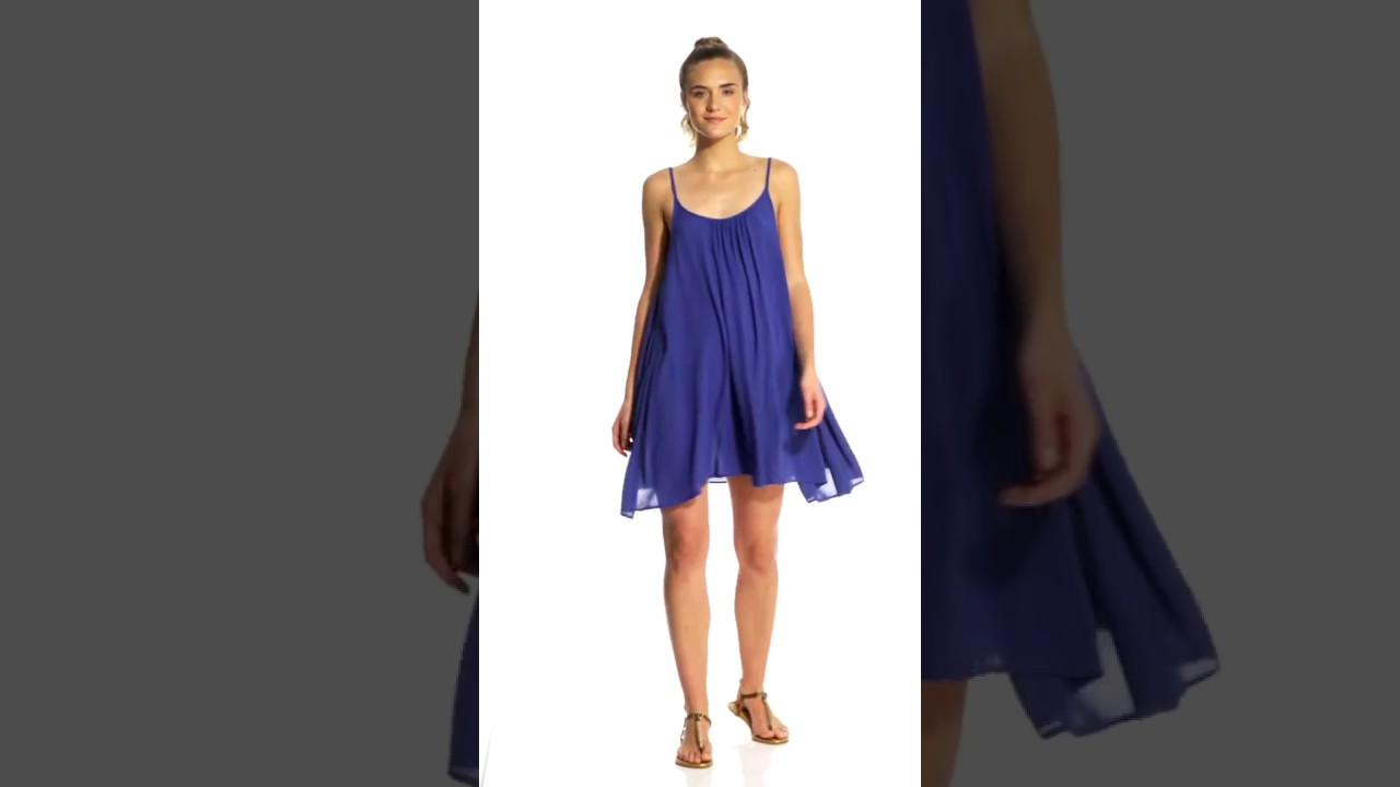 a88de4c371 Roxy Windy Fly Away Cover Up Dress | SwimOutlet.com - YouTube
