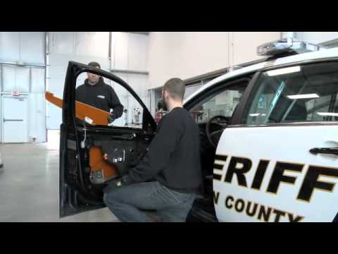 Bullet Proof Car >> Ballistic Door Panels - YouTube