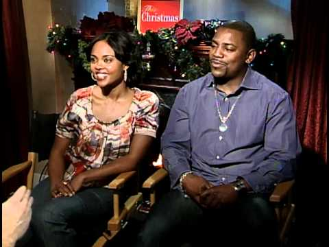 This Christmas Lauren London.This Christmas Interviews With Lauren London And Delroy Lindo