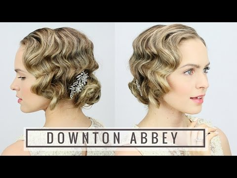 1920's Finger Wave Updo!