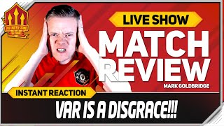 GOLDBRIDGE! Sheffield United 3-3 Manchester United Match Reaction