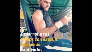 Ejercicios para los biceps (explicados)