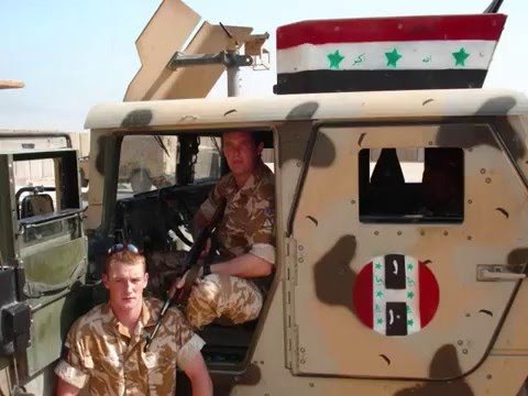10 PlatoON  Irish Guards In Iraq Op TELIC 10
