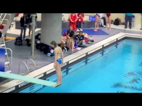 2014 NYSPHSAA Girls Diving State Championships - Jennifer Bell