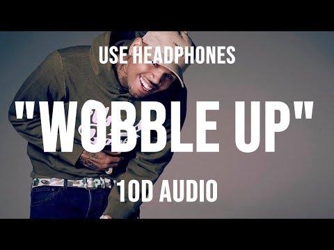 Chris Brown - Wobble Up ft  Nicki Minaj G-Eazy [10D AUDIO