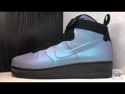 official photos 49278 b3b9d Nike Air Force One Foamposite Light Carbon AF1 Sneaker Review