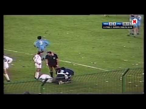 Copa de Europa 1989 - Real Madrid-PSV Eindhoven 1/3