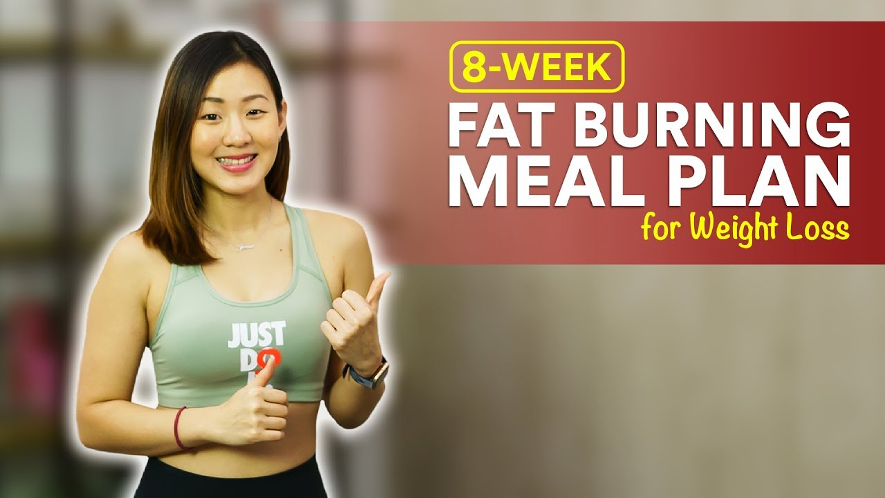 8-Week Fat Burning Meal Plan to Lose Weight (Full Recipes) | Joanna Soh