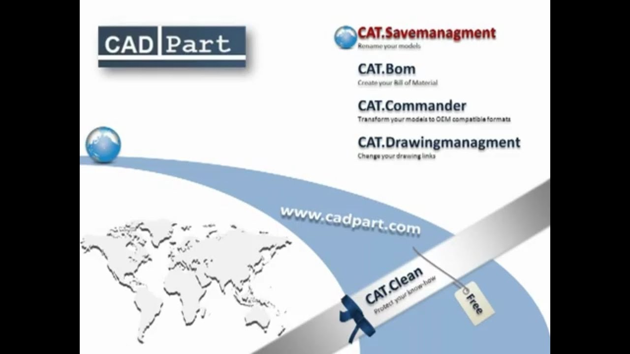 CATIA V5 | CAT Savemanagment | Modify your partnumbers and file names