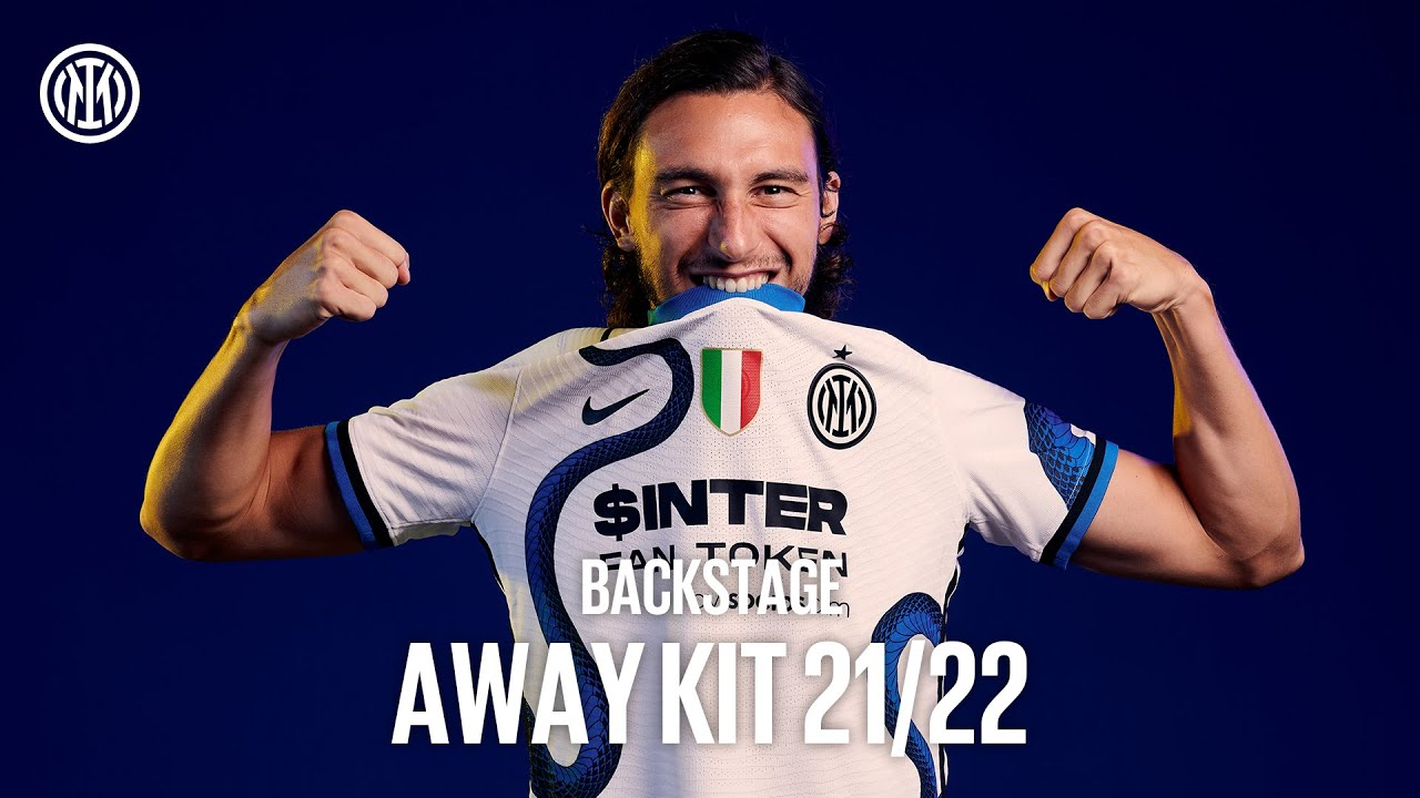 THE NEW INTER AWAY KIT 2021/22   EXCLUSIVE BACKSTAGE ft Darmian, D'Ambrosio and Ranocchia  🐍⚫🔵🎬