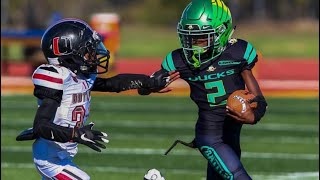 BEASTMODE Runs | Youth Football | stiff arms and truck stick !!!