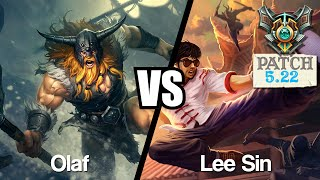 OLAF VS LEE SIN - SoloQ Master - En Jungle contre Jankos !