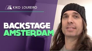 Backstage in Amsterdam Megadeth European Tour 2020 ( legendado)