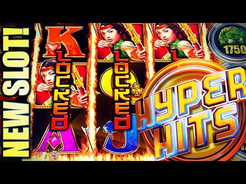 ★NEW SLOT! HYPER HITS★ 3-LOCKED LADY WILDS!? 🔥😅 Slot Machine Bonus (IGT)
