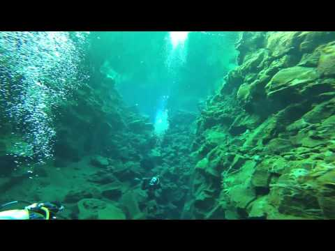 Silfra Dive 1 - Full Speed