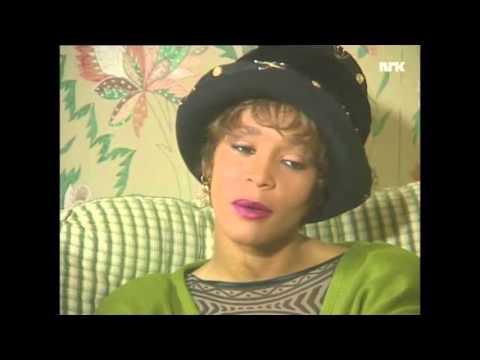 Rare Whitney houston  interview/ 1990.