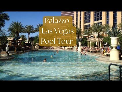 Palazzo Las Vegas Pool Walkthrough 2016