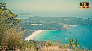 Тайланд сейчас Пхукет пляж Найхарн в короновирус жизнь на Раваи и вид с Черной скалы